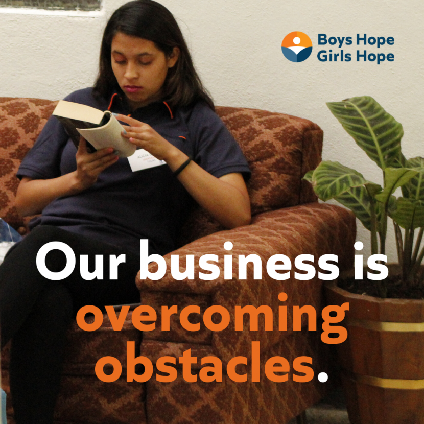 Our Business Is Overcoming Obstacles 3