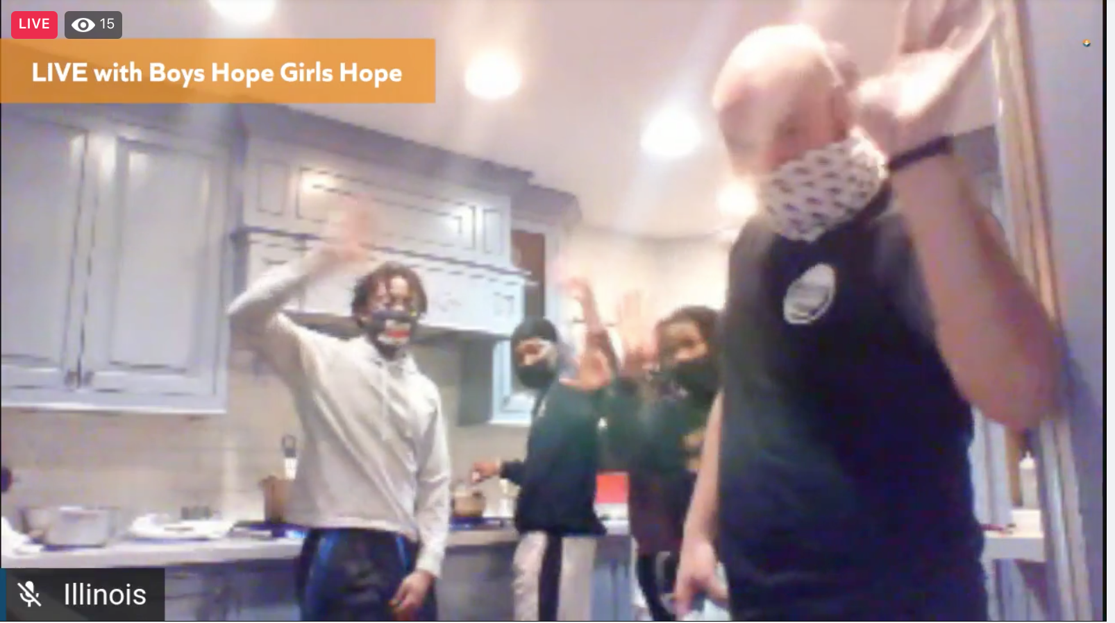 An Online Boys Hope Girls Hope Culinary Party with Chef Joh Ash 1