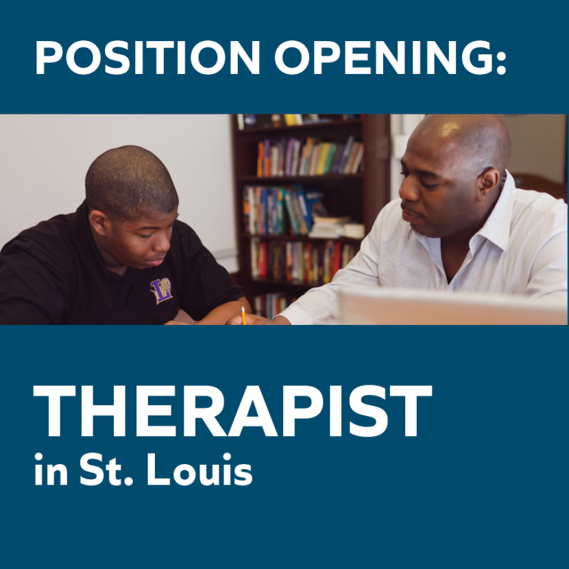 Position Opening: Clinical Therapist | St. Louis 1
