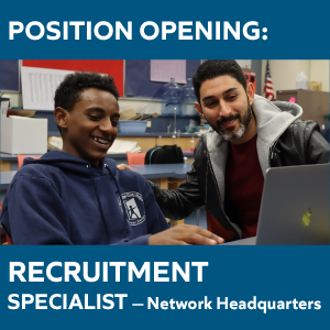 Position Opening: Recruitment Specialist | Network Headquarters
